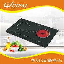 Multi-function CB Certification Double Burber Induction Infrared Cooking