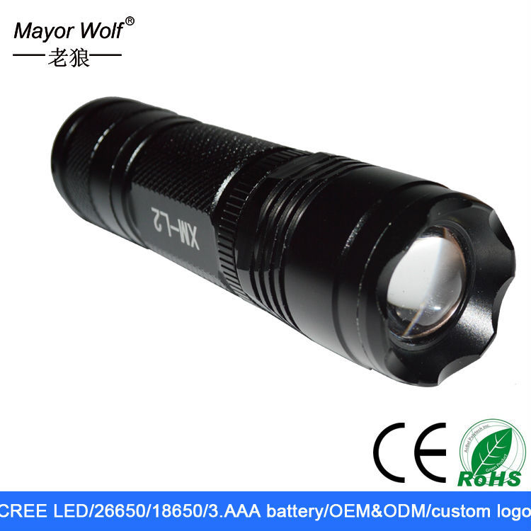 wholesaler rechargeable cree led flashlight <strong>1000</strong> lumens