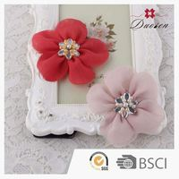 Best Design Crystal Silk Hairgrip for Little Girls Decoration