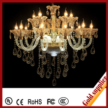 High quality Crystal stemmed candle lamps for family