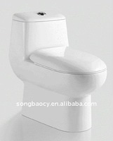 Siphonic one piece toilet 9195 & Chaozhou ceramics