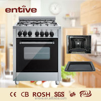 restaurant kitchen cooking range with grill