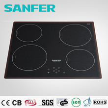 Sanfer expensive 60mm 4 burner ceramic cooktop power warning gas hobs