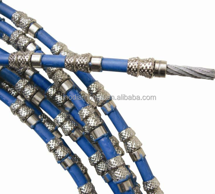 High quality cutting wire saw rope diamond wire saw for stone cutting in masonry
