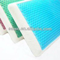 neck kneading breathable memry foam magic gel pillow