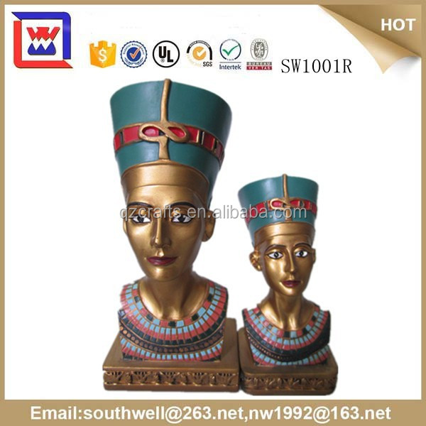 custom resin egyptian crafts Egypt Pharaoh Statues souvenirs