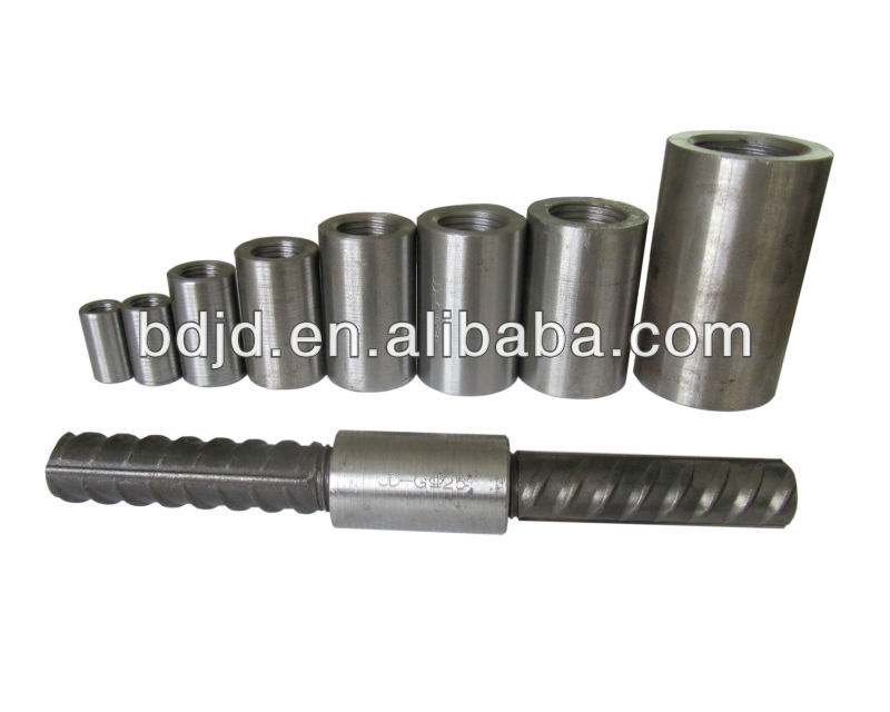 Hot Sale Rebar Couplers/rebar splicing sleeve