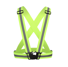 High Visibility Reflective Fabric Elastic <strong>Safety</strong> Vest With Elastic Belt