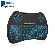Wholesale H9 2.4GHz Wireless Remote Control mini usb keyboard colorful wireless mini computer keyboard for android tv