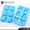 Funny Cake Baking Utensils Animal Shape Wholesale Cake Silicone Jelly Mold