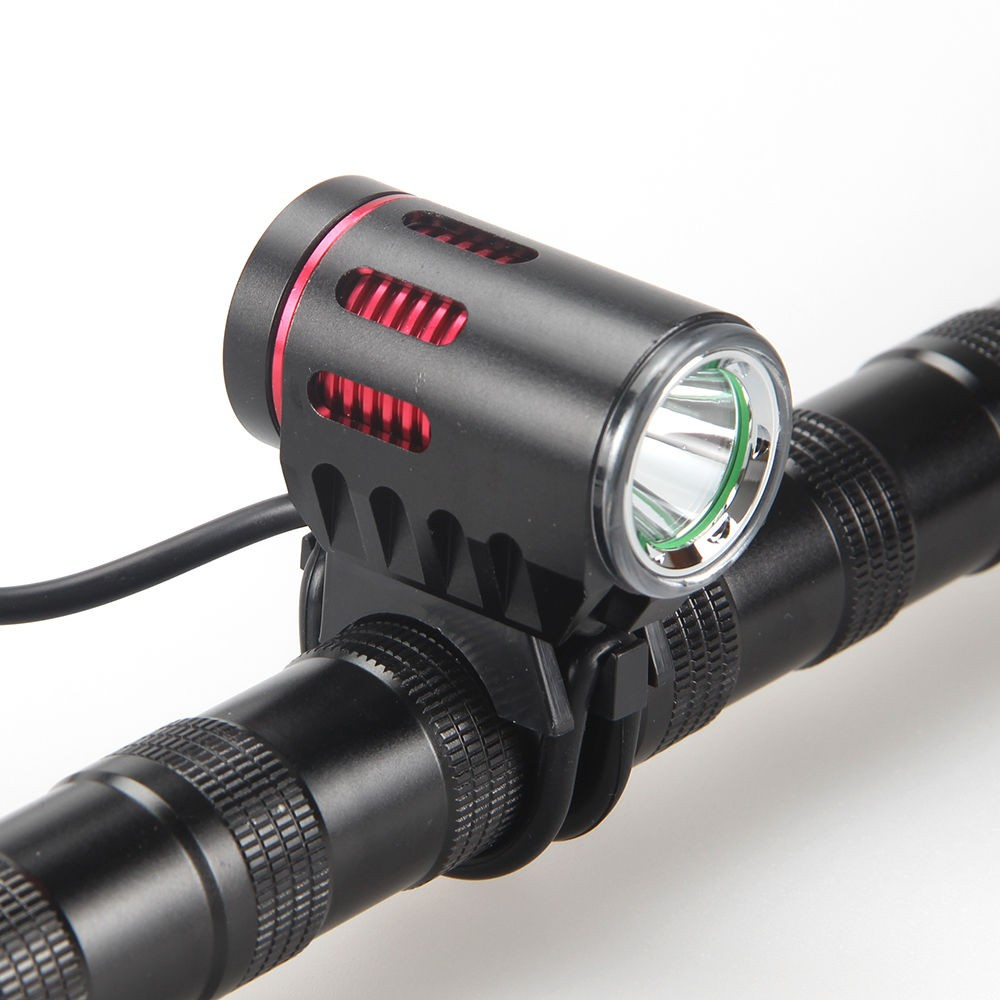 2016 New Design Bicycle Front Light Rechargeable Headlamp 1200 Lumen 1 L2 LED Lamp