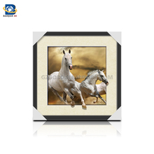 Wholesale/Customized stunning 3D lenticular picture with running horse ,3D,5D flip picture,Animated Posters