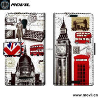Custom Design PU Leather Cover case for alcatel pixi first ot 4024d one touch 4024
