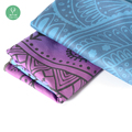 tie dye yoga towel anti slip yoga microfiber towel