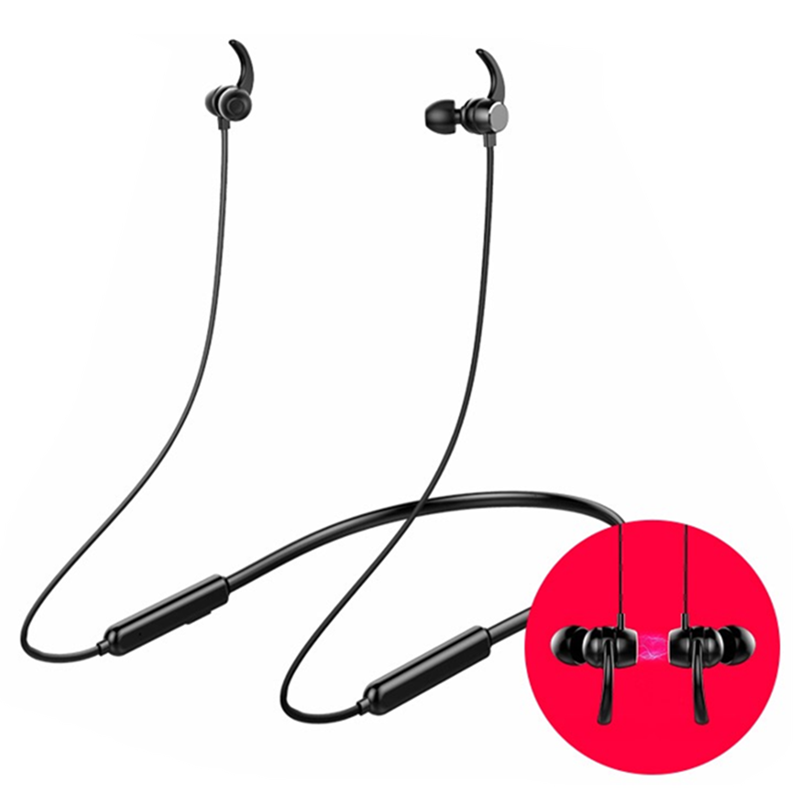 Wireless Stereo Shenzhen factory OEM Neckband Headphone BT Headset with In-Ear Earbuds