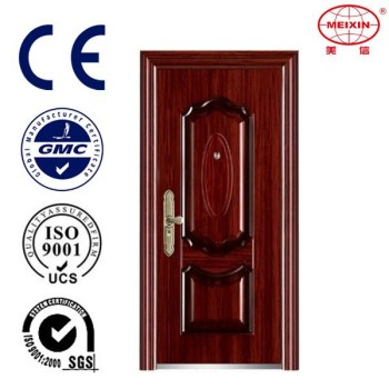 Heat transfer-printing & powder coating Steel Modern Interior Door