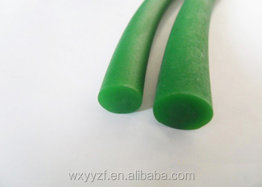 Green Polyurethane round rough belt