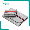 Portable Fashion Quality Wool Felt Laptop Bag Sleeve 11'' 13'' 15''