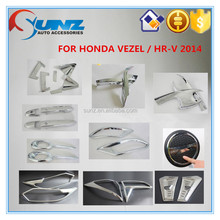 New ABS plastic chrome accessory for HONDA VEZEL/HR-V 2014-NEW-full chrome kits decorative accessories