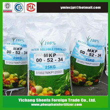 Good Price Mono Potassium Phosphate 0-52-34 MKP Fertilizer