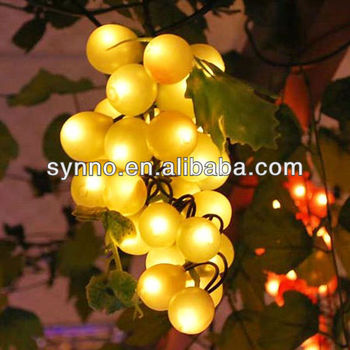 Led Grape Cluster String Lights : Led Grape Cluster String Lights - Buy Grape Cluster Lights,Leaf String Lights Product on Alibaba.com