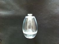 classic egg shape perfume glass bottle spray bottle 30ml custom made