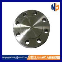 Black floor blind puddle steel forging flange