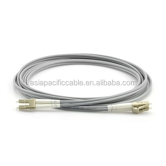 Best Price LC UPC 62.5/125 Fiber Optic Patch Cord/ Jumper OM1 Duplex Multimode Armored Fiber Optic Patch Cable
