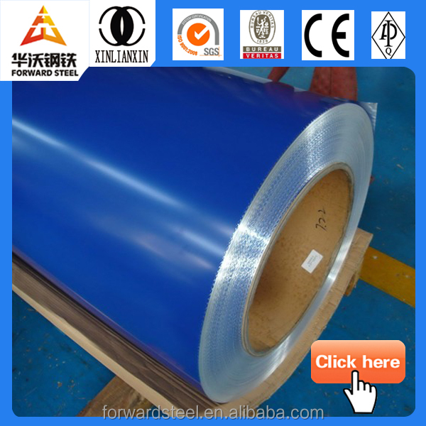 Used for construction, furniture, home appliances high quality green steel colour coils PPGI