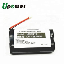 7.4V 2600mAh Li-ion Rechargeable Battery Pack Pos Machine Battery Replacement for NEW8210 Pos Terminal