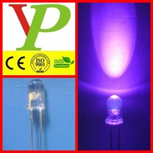 reliable 3mm 5mm 10mm violet 405nm led