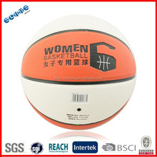 Laminated PU official basketballs with different sizes