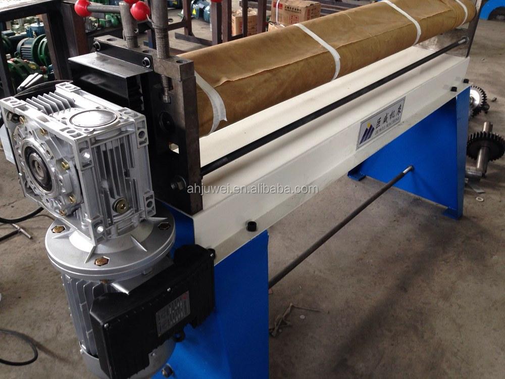 metal sheet rolling machine
