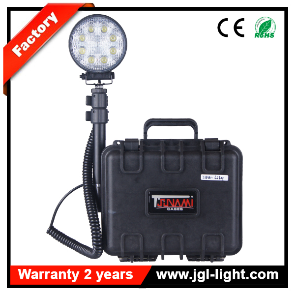 rechargeable led flood lights for utilities searching and rescue emergency services CE ROHS approved 5JG-231815-24W