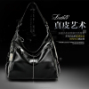 2016 fashion women's bags italian leather handbag genuine leather lady evening hand bag set manufacturer factory