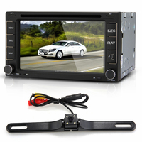 "VQ07 6.2"" Touch Screen Car DVD In-Dash 2 DIN GPS Navigation"