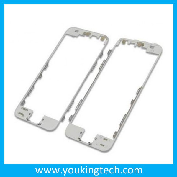 High performance spare parts Bracket Housing Middle Bezel for iPhone 5 front LCD bezel Frame