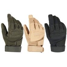 full finger tactical military airsoft police anti riot outdoor sports protective gloves