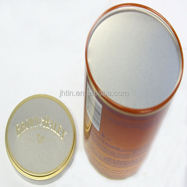 Alibaba China supplier round tin box for cookie/clear cookie tin box/blank tin box