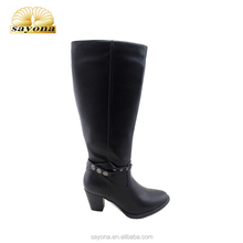 fast supplier ladies thigh high heel long boots