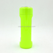Sporting Goods Small Capacity 13oz Glass Infuser Water Bottle with Protective Silicone Sleeve
