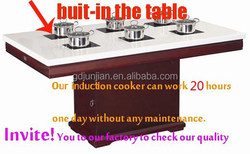 electrolux 30 induction cooktop shabu shabu table