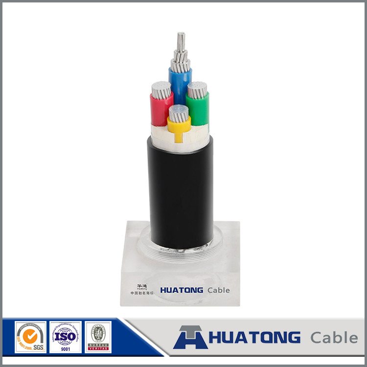 Different types of cables XLPE / Copper / aluminum armoured / unarmored electric power cables