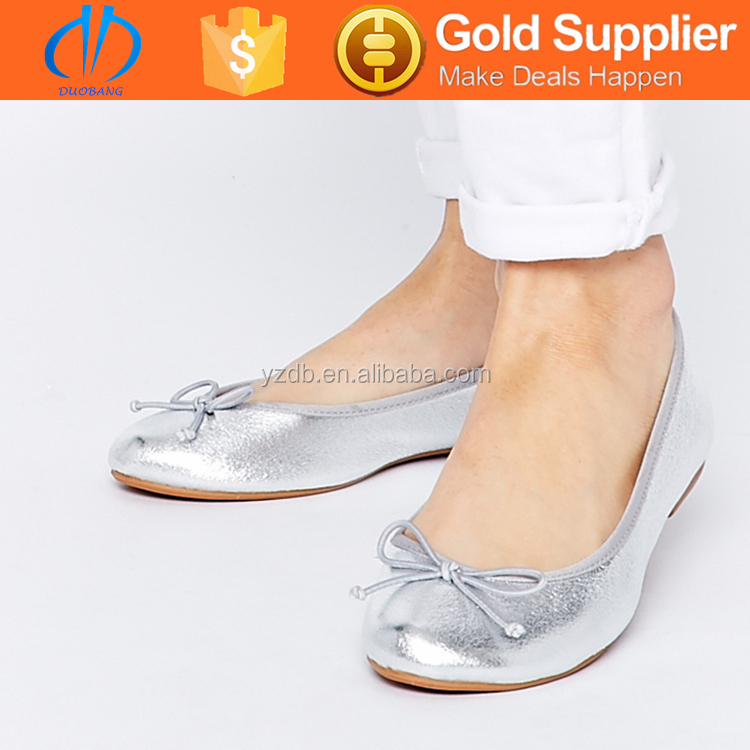 Comfortable office ladies ballerina shoes