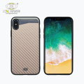 Customize carbon fiber design shockproof case cover for iphone x x