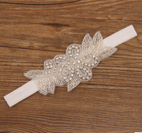 crystal flower baby hair accessories