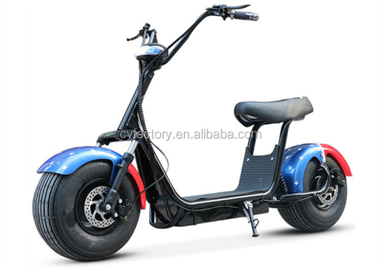 Citycoco two seat electric motorcycle 2 seats mobility handicap three wheel scooter