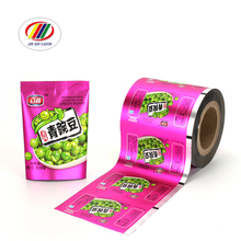 Eco friendly matte finish food packaging plastic laminated roll film for snack