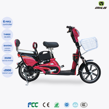 2017 hot sale beautiful pedal electric bicycle for lady ,48v e-bike