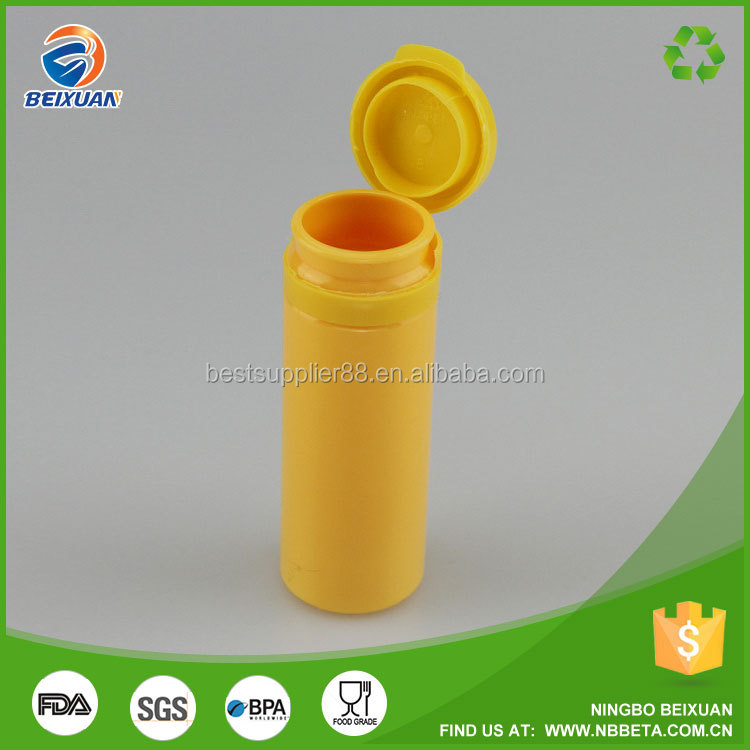 Color Plastic Pill Bottle Pop Top Empty Tube Medicine Bottles Pharmaceutical Plastic Vails For Pill
